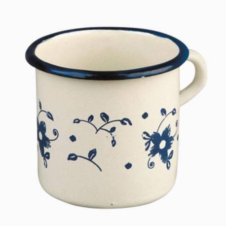 Taza de acero esmaltado 8 cm  Utensilios de cocina