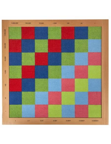 Tablero de ajedrez Fieltro Decimales - Nienhuis  Operaciones Abstractas
