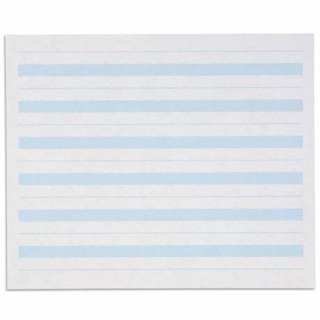 Papel de escritura 6 líneas - pack de 500  Lenguaje Montessori