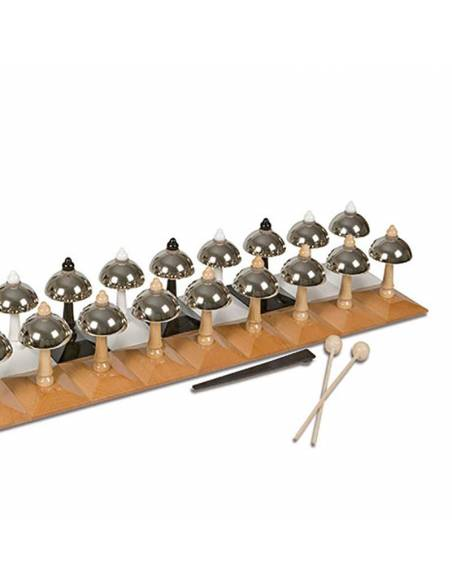 Set de campanas - Escala Cromática - Nienhuis Montessori  Música y Arte