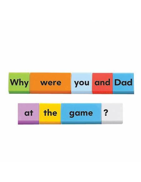 Sentence Building Dominoes  Lenguaje