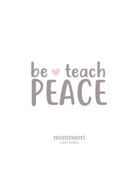 Bolígrafo Montessori - Be Peace  Regalos Montessori