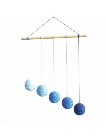 Móvil bebé Gobbi DIY - Azul  Infantil