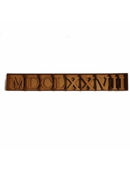Pack de Números Romanos con Caja (incluye M, D, C, L...)  Aprender a Contar