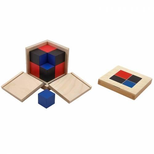 Cubo de Binomio  Sensorial