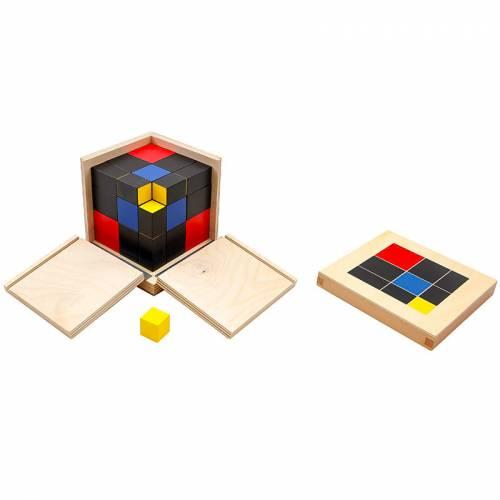 Cubo de Trinomio  Sensorial