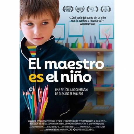 El Maestro es el Niño - DVD Película Documental  Libros Montessori