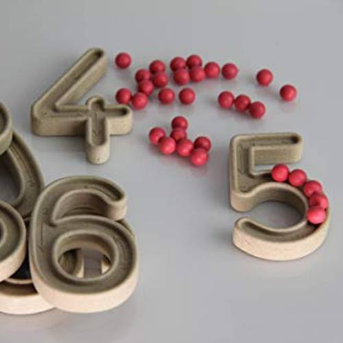 Set de números con Cuentas  Aprender a Contar