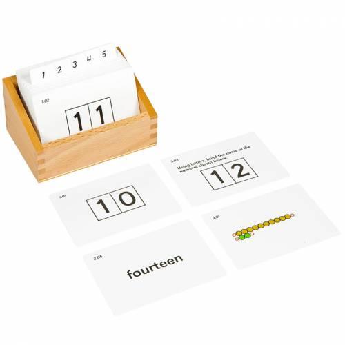 Tarjetas de actividades - Tablas de seguín nº 2  Tarjetas Montessori