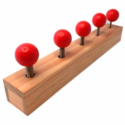 Barra de esferas  Destrezas y habilidades