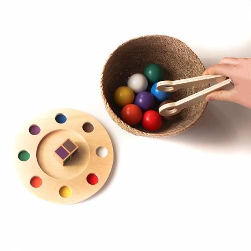 Bolas en equilibrio - arcoiris  Infant