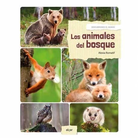 Los animales del Bosque - Descubrimiento del mundo  Libros con Imágenes Reales