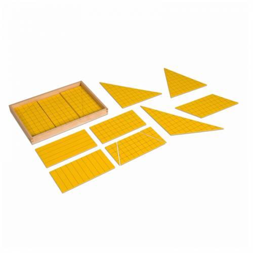 NH Triángulos Amarillos para el Área  Geometría y Álgebra