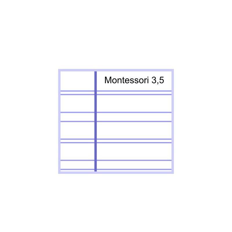 ... montessori 3,5 - 32 hojas 70 gr Cuartilla - Montessori para todos