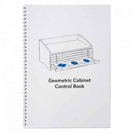 Geometric Cabinet Control Book  Geometría y Álgebra
