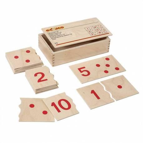 Puzle números 1-10  Contar del 0 al 100
