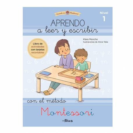 Serie blanca Montessori | Aprendo a leer con Montessori  Libros