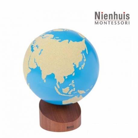 Globo de Lija Tierra y Agua - Nienhuis  Material Montessori