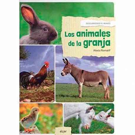 Los animales de la granja - Descubrimiento del mundo  Libros con Imágenes Reales