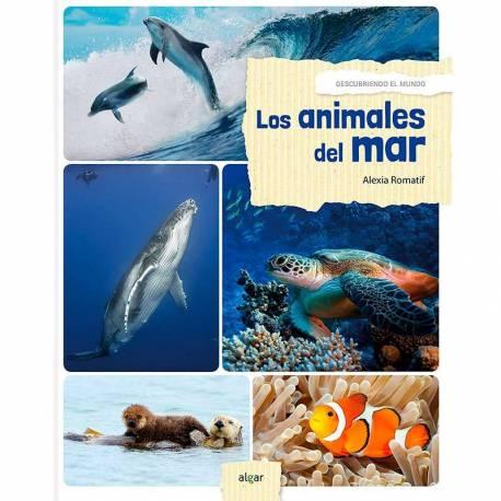 Los animales del mar - Descubrimiento del mundo  Libros con Imágenes Reales