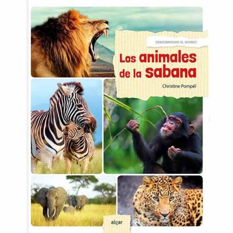 Los animales de la sabana - Descubrimiento del mundo  Libros con Imágenes Reales