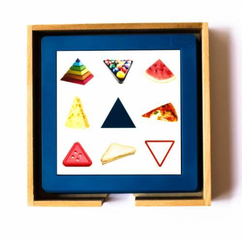 Tarjetas didácticas - Aprende las formas Geométricas  Más de 3 años