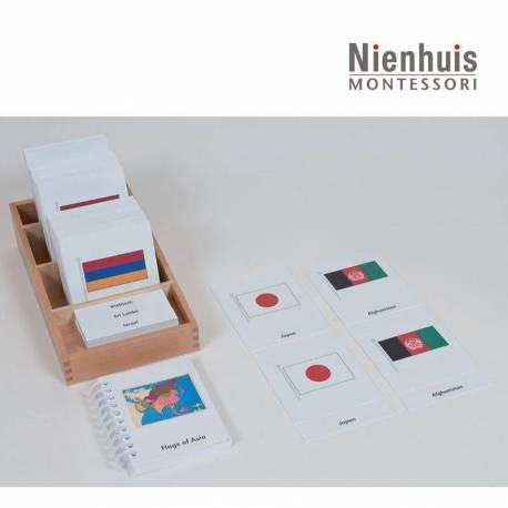 Banderas de Asia  Continentes y países