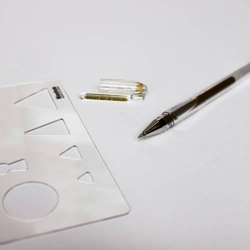 Bolígrafo Pilot en Oro  Gramática y Sintaxis