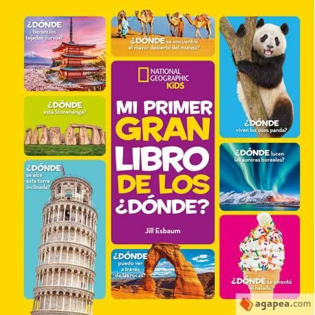 MI PRIMER GRAN LIBRO DE LOS ¿DONDE?  Libros con Imágenes Reales