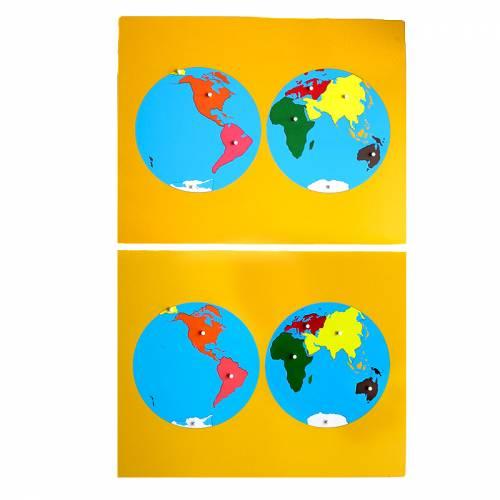 Mapa de Continentes - Actualizado  Universo y la Tierra