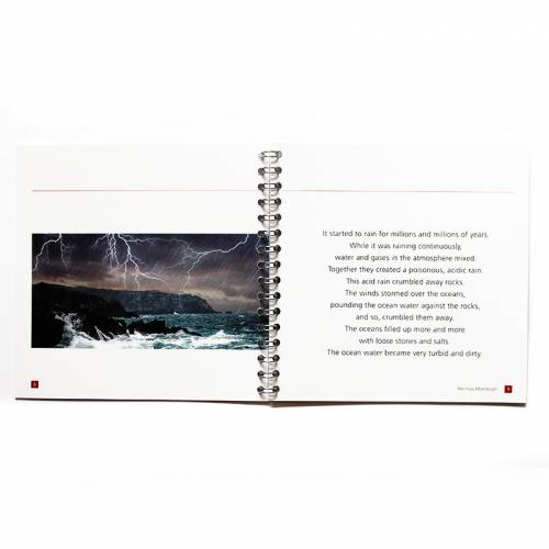 The Sun Looks Upon Water, Air And Rocks  Montessori Books for Children