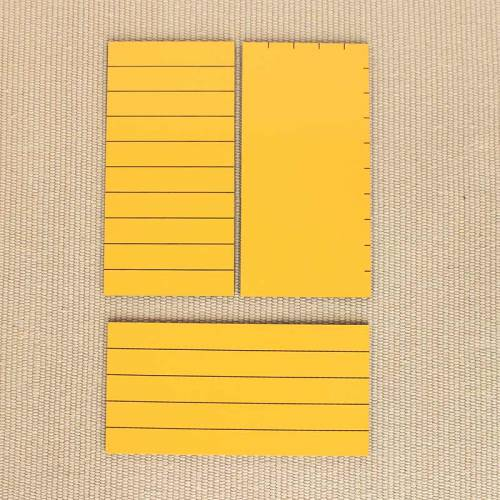 Triángulos amarillos para área*  Geometría y Álgebra