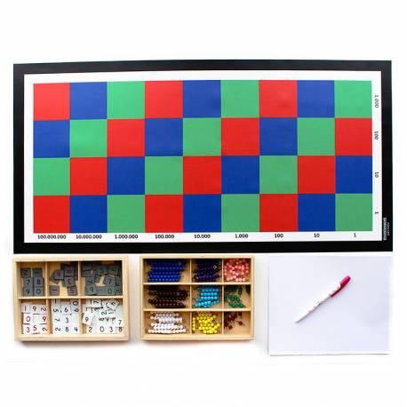Tablero de ajedrez en lona  Operaciones Abstractas