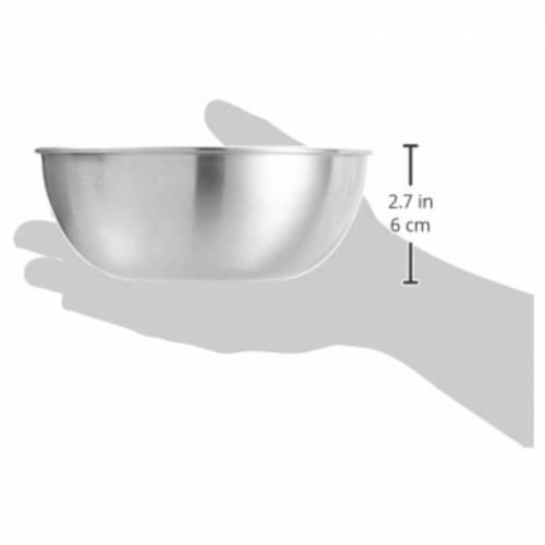 Bol de acero INOX Ø16  Utensilios de cocina