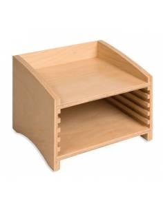 Módulo de madera para cinco puzzles