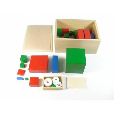 Material Mutibase montessori