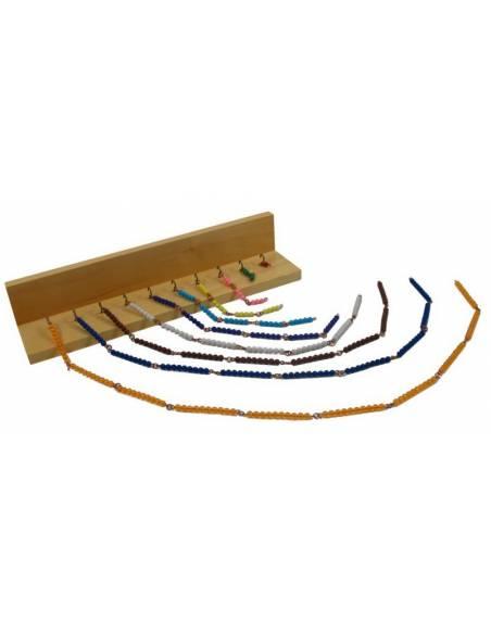 Rack para cadenas cortas  Sistema Decimal