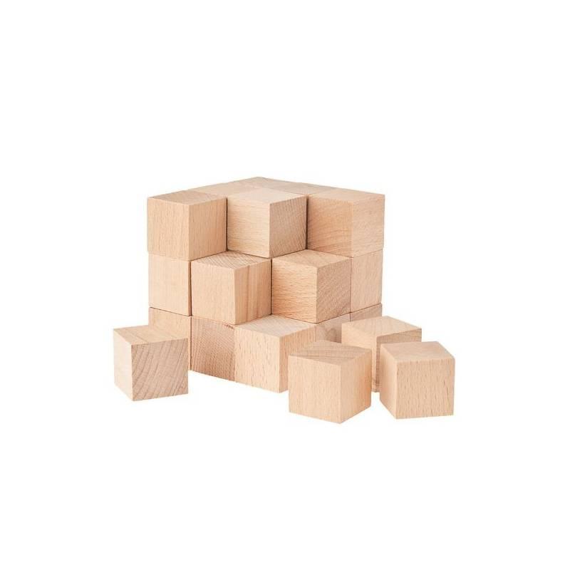 cubos soma en madera de haya 30x30x30 mm montessori para. Black Bedroom Furniture Sets. Home Design Ideas