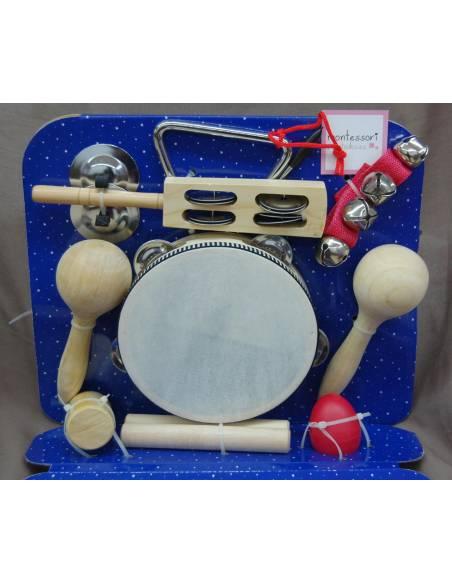 Kit instrumentos de ritmo - Mediano  Música