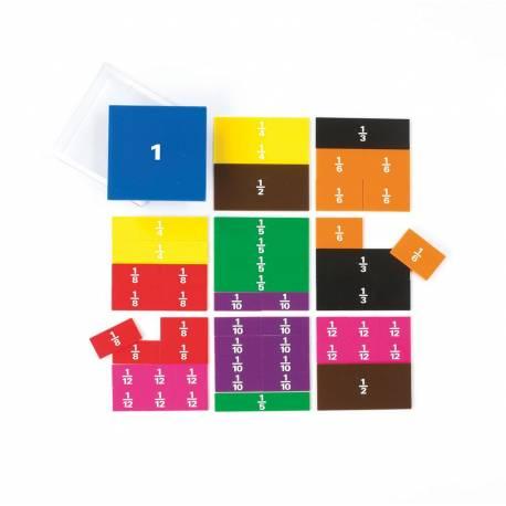 Fracciones cuadradas  Fracciones