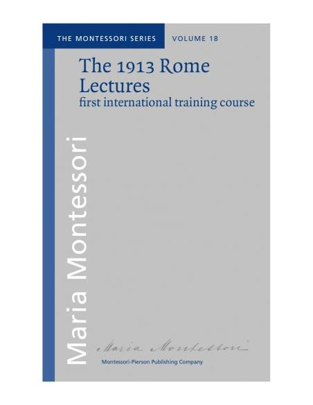 vol.18: The 1913 Rome Lectures