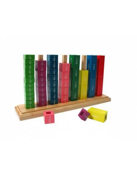 Fracciones verticales madera