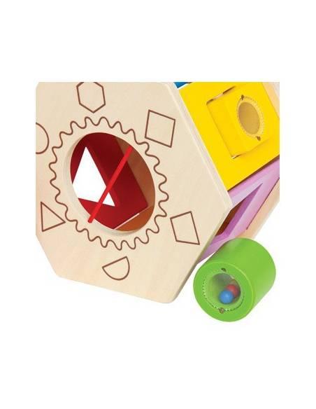 Caja de formas  De 1 a 3 años