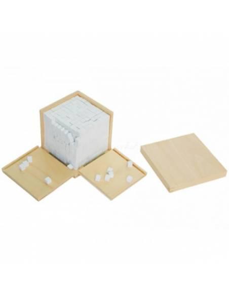 Caja de volumen - 1000 cubos de 1x1x1