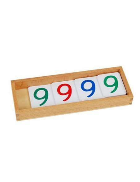 Números largos en papel GRANDES