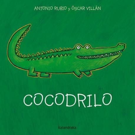 Cocodrilo  Libros para bebés