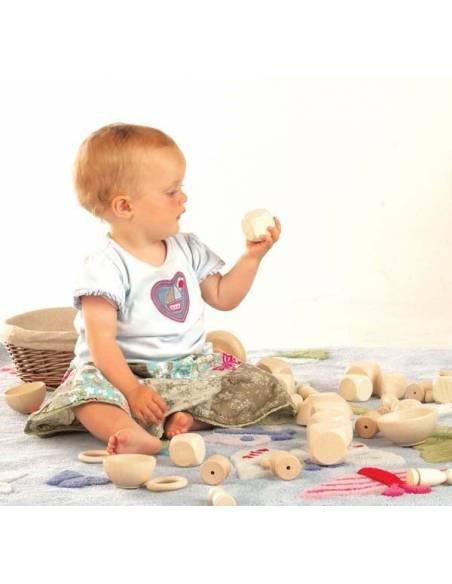 Cesta de tesoros  Bebés