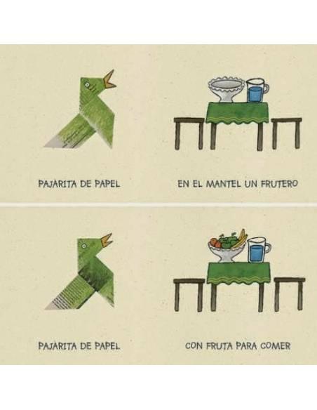 Pajarita de papel  Libros para bebés