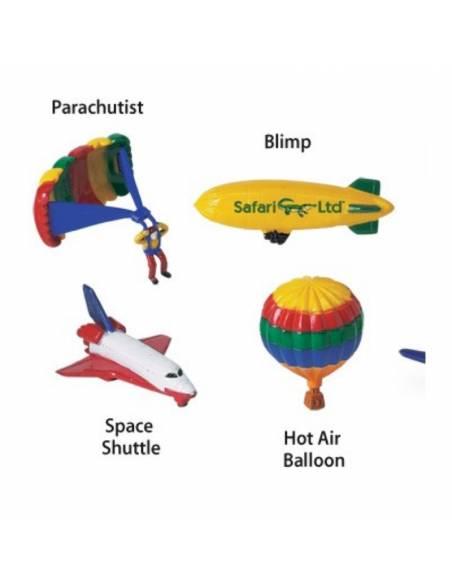 Nos movemos por el cielo  Miniaturas de Safari