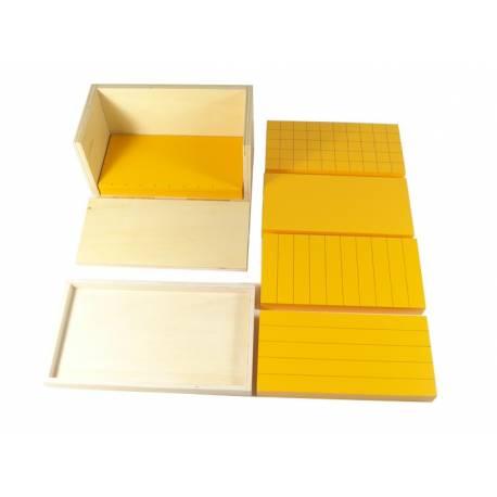 Prismas amarillos (5uds(